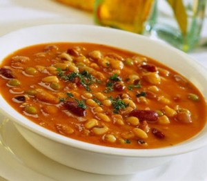 sunday specials | potage de garbanzos