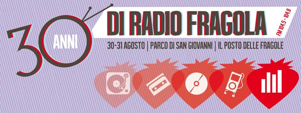 radio fragola | 30 anni di voci musica e passione