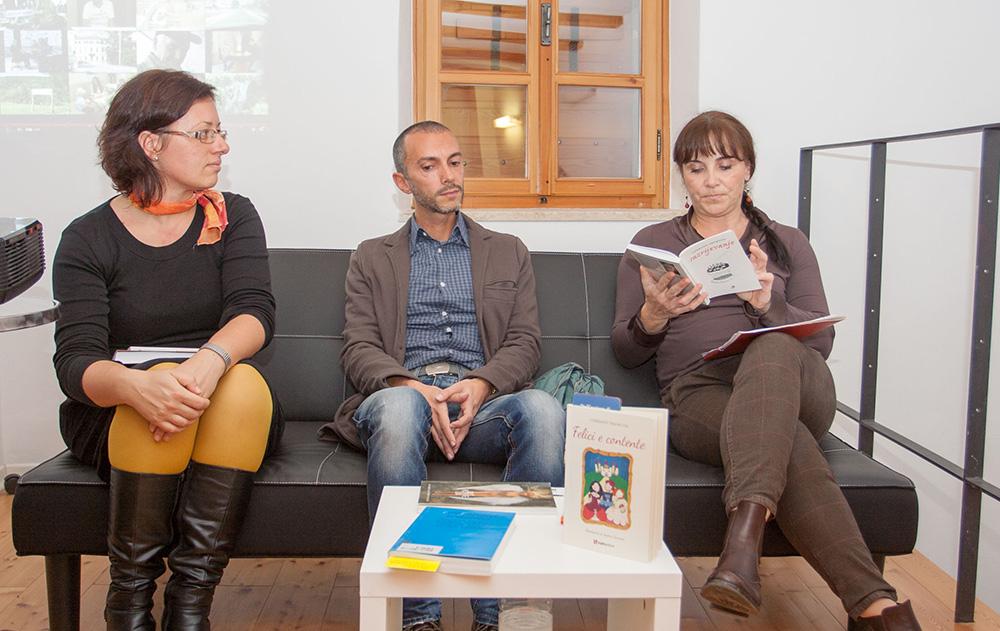 Iva Ciceran, Corrado e Liana Dikovic