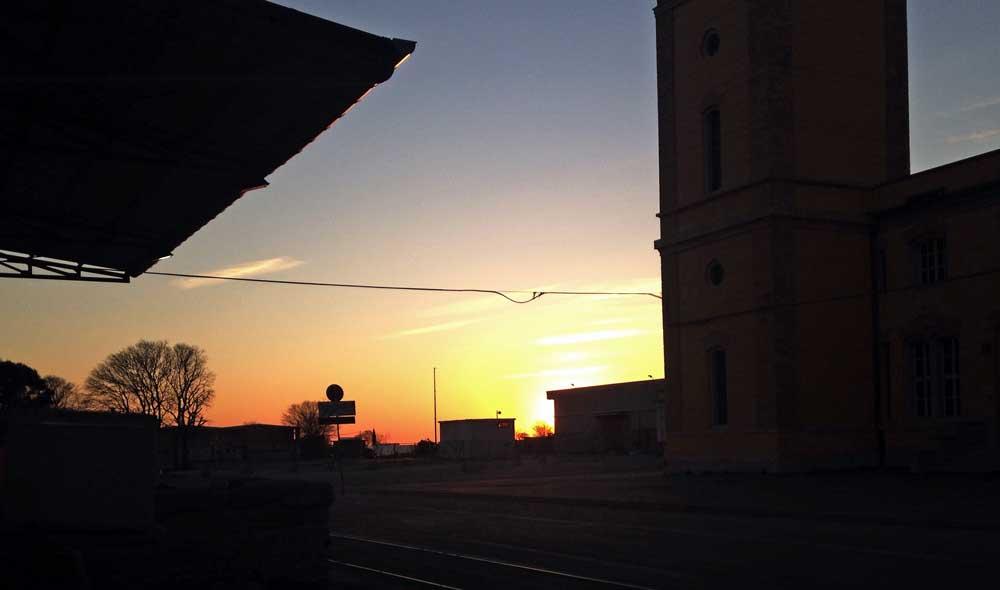 www.goodmorningtrieste.it_ tramonto sul porto vecchio