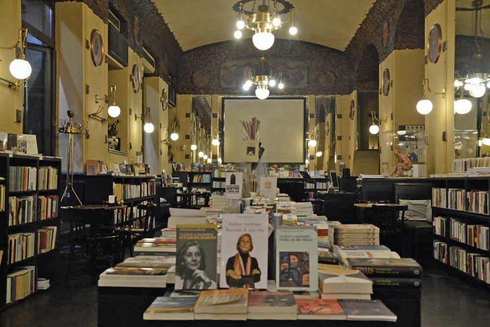 libreria del Caffè San Marco _ Trieste