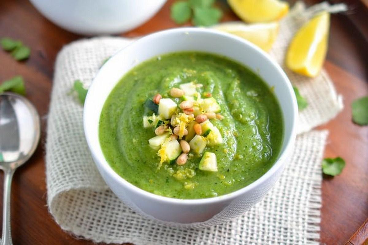 la ricetta della domenica | gazpacho di zucchine